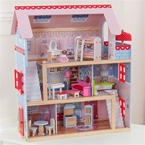 kidkraft chelsea doll cottage with furniture import it all