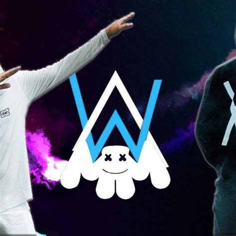 marshmello vs alan walker alan walker vs marshmello alone mashup by dede free