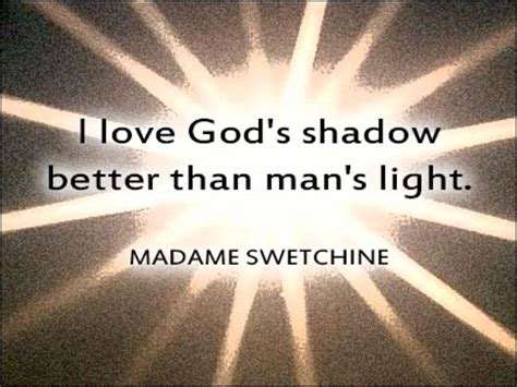 better than light i god s shadow better than s light