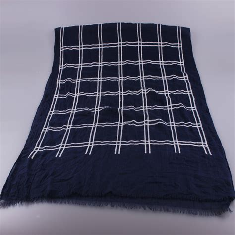 wholesale plaid cotton scarf china scarf