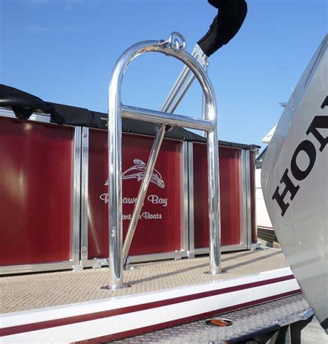 pontoon tow bar alloy ski tube tow bar runaway bay pontoon boats