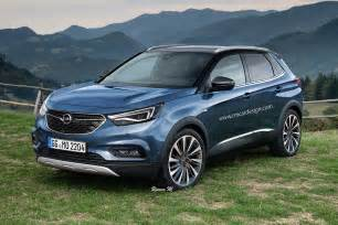Opel News 2017 Opel Grandland X Rendering Is A Peugeot In Disguise