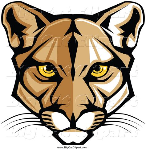 mascot clipart royalty free stock big cat designs of mountain mascots