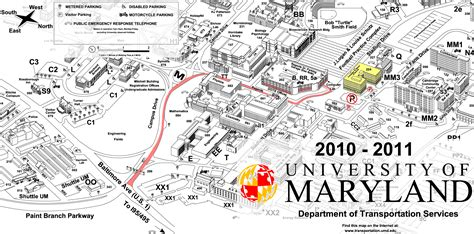 maryland map college park umd space physics maps