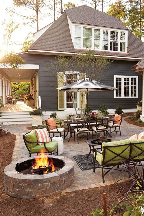 southern living at home simple front exterior with