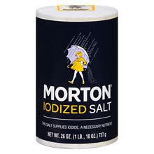 morton iodized salt walgreens