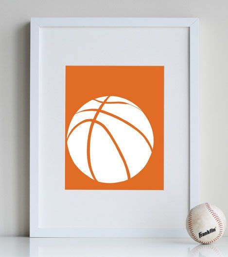 basketball bedroom accessories basketball room decor boys sports decor 8 x 10 print customizable colors