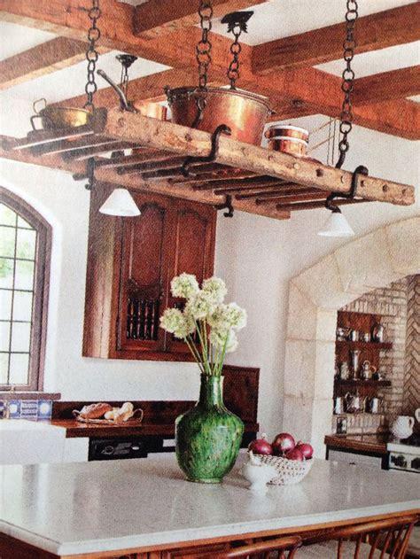 kitchen island hanging pot racks 207 best ladders of success images on pinterest home