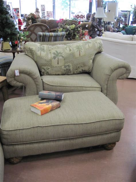 overstuffed leather chair and ottoman vintage upholstered overstuffed chairs with ottoman the