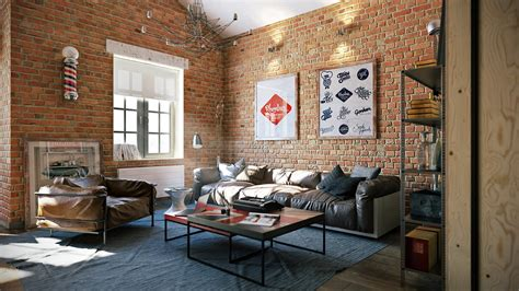 Armchair Montreal 3 Stylish Industrial Inspired Loft Interiors