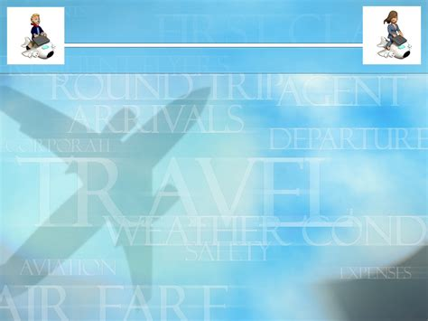 corporate travel templates for powerpoint presentations