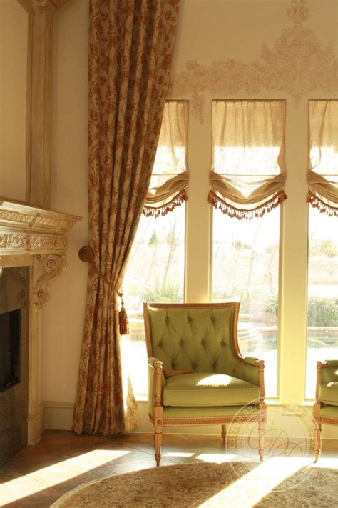 custom drapery custom draperies home window treatments pinterest
