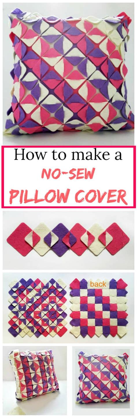 How To Make A Pillow Cover by 240 Easy Craft Ideas To Make And Sell Diy Crafts