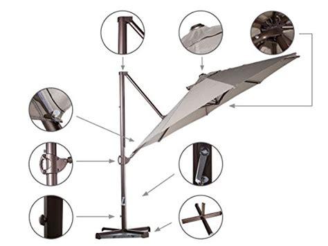 Cantilever Umbrella Parts Diagram