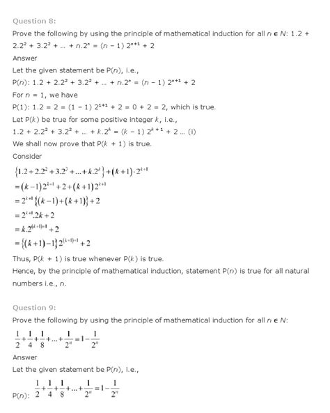 principle of mathematical induction ncert solutions pdf answers ncert solutions for class 11 maths solutions chapter 4 principle of mathematical