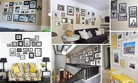 hang art helpful hints for displaying family photos on your walls