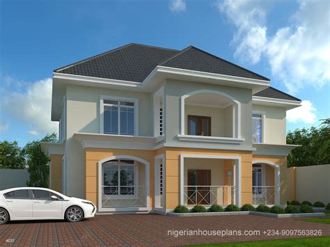 house plans 5 bedrooms 2018 nigerianhouseplans your one stop building project solutions center