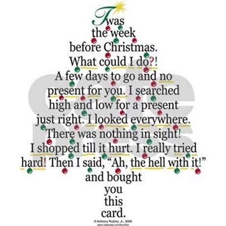 christmas tree card poem children tree gift poem card greeting cards pk o by daddyshomestore