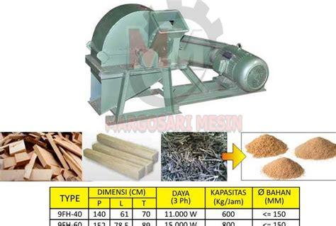 Mesin Wood Crusher mesin penghancur kayu wood crusher margosari mesin