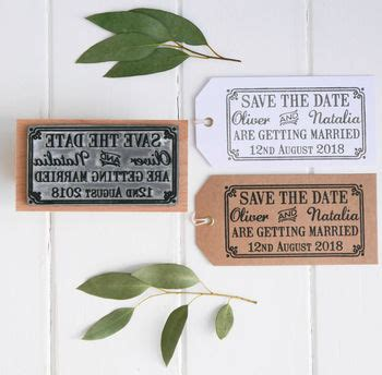 rubber st save the date st company storefront notonthehighstreet
