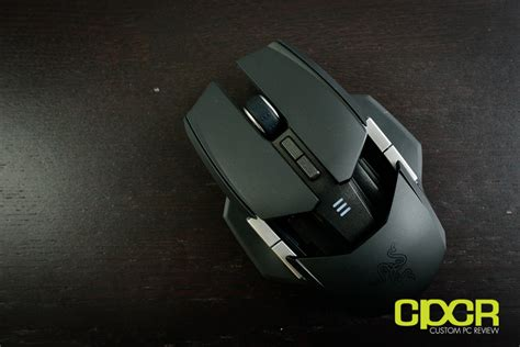 Razer Ouroboros Wireless Gaming Mouse review razer ouroboros wireless gaming mouse custom pc review