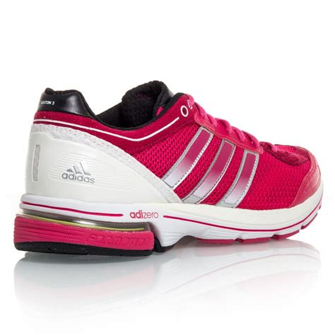 running shoe store boston adidas adizero boston 3 womens running shoes pink