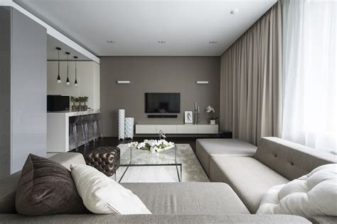 Hotel Living Room Design by Apartment Hotel Interiors By Alexandra Fedorova