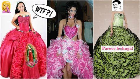 imágenes de vestidos de novia feos los 25 vestidos de quincea 209 era m 193 s feos del mundo
