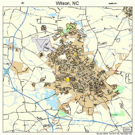 wilson carolina map wilson carolina map 3774540