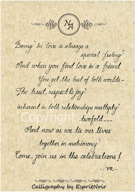 indian wedding invitation card quotes in indian wedding quotes and poem for wedding cards image