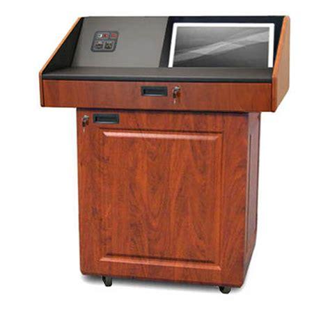 vfi avf audio visual furniture executive multimedia podium