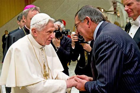 wann wurde papst benedikt gewählt vor f 252 nf jahren hat benedikt xvi seinen r 252 cktritt als
