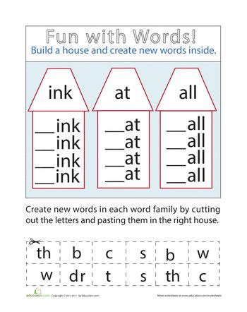 Create Vocabulary Worksheets by Make Words Spelling Words And Vocabulary