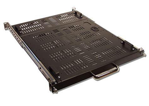 1u Sliding Rack Tray by 1u Rackmount 24 Quot Vented Sliding Rack Shelf