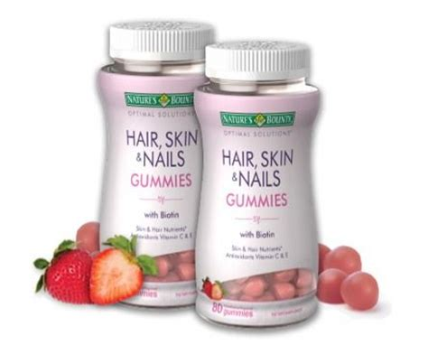 biotin after 3 months nail growth natures bounty biotin hair skin and nails gummies