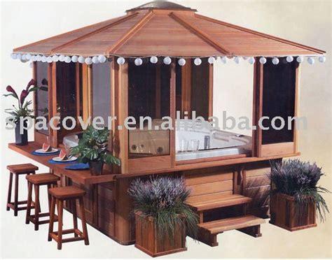 Ideas Design For Hton Bay Gazebo Gazebo Tub Spa W Bar Outdoors Pinterest Tubs