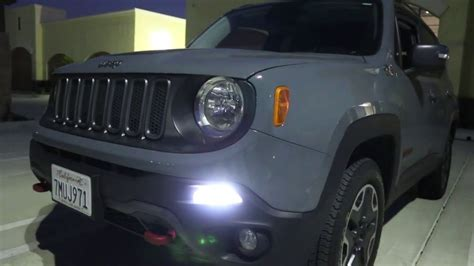 jeep renegade lights ijdmtoy jeep renegade led daytime running light