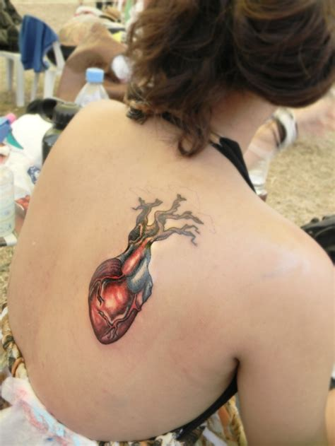 heart surgery tattoo best 25 tree ideas on 3 hearts