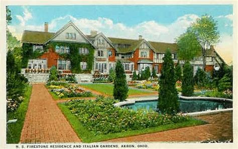 Firestone House the gallery homes of the rubber barons harvey