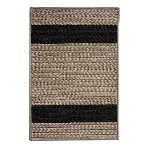 11 x 14 outdoor rug home decorators collection cafe 11 ft x 14 ft tostado black indoor outdoor braided area