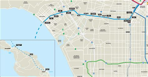 expo line map metro announces partnership with stark industries to extend expo line to