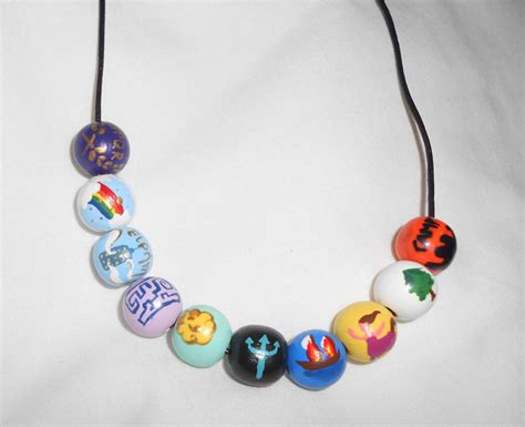 percy jackson bead necklace percy jackson and the olympians necklace by artsymaddie on
