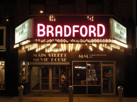Bradfords Main Street Movie House In Bradford Pa Cinema Treasures