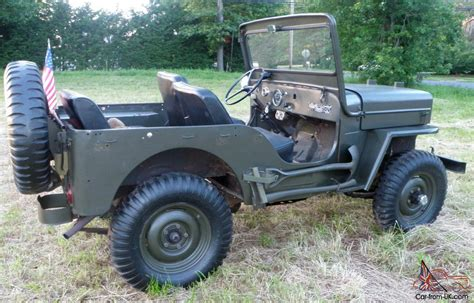 1962 willys jeep 1962 willys cj3b jeep