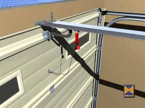 Garage Door Emergency Release Hormann Promatic And Supramatic Garage Door Opener Inst Doovi