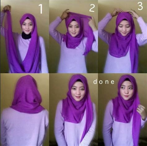 tutorial hijab paris doble tutorial hijab paris simpel tak monoton dream co id