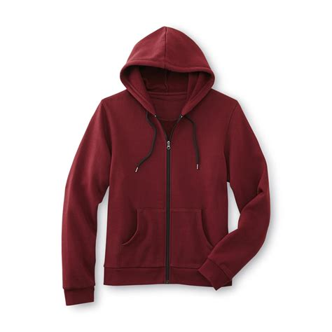 Parka Basic Hoodie basic editions s fleece hoodie jacket shop your way shopping earn points on