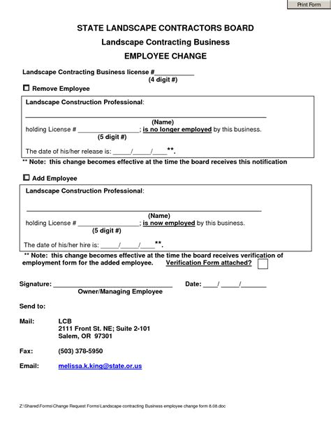 Landscaping Contracts Forms by Best Photos Of Printable Landscaping Contracts Landscaping Contract Templates Free Printable