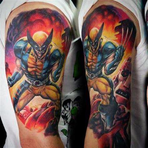x men tattoo x sleeve www pixshark images galleries