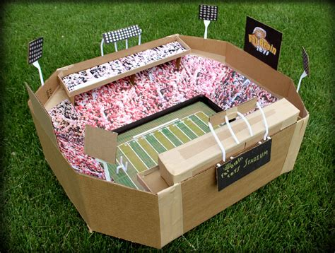 How To Make A Football Stadium Out Of Paper - brain toys memorial stadium